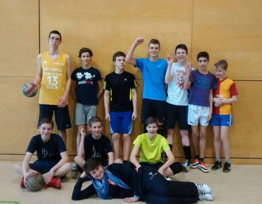 Volleyball Team Heinrich-Hertz