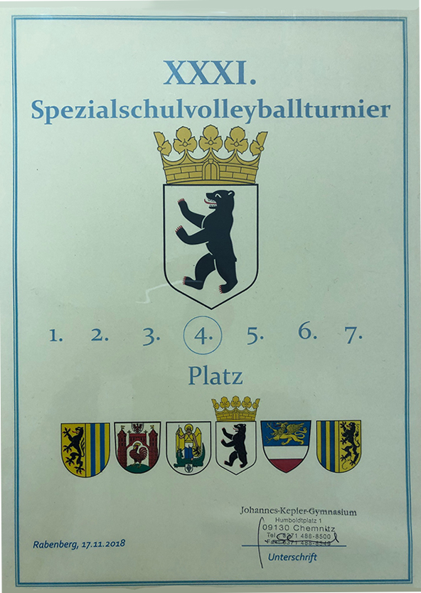 Volleyball am Heinrich-Hertz-Gymnasium
